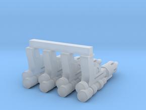 "PRHI Bespin Blaster for 2"" Figures in Smoothest Fine Detail Plastic"