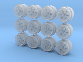 Advan YH rims for Hot Wheels   in Smooth Fine Detail Plastic