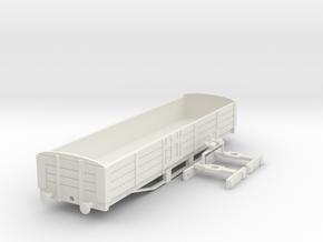 Long L&B Wagon in White Natural Versatile Plastic