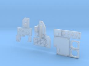 1.6,5 COCKPIT F18 (C) in Smooth Fine Detail Plastic