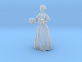 Barmaid no stand in Smooth Fine Detail Plastic