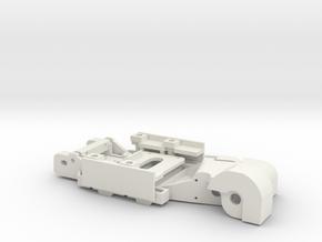 Slotcar BRM Camber System for Bimmer E30 DTM in White Natural Versatile Plastic