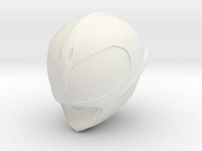 Pink Slayer Helmet FA in White Natural Versatile Plastic