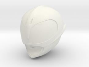 Pink Slayer Helmet LGCY in White Natural Versatile Plastic