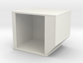 AKE Air Container (open) 1/76 in White Natural Versatile Plastic