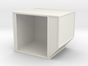 AKE Air Container (open) 1/43 in White Natural Versatile Plastic