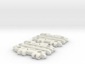 TF Titans Return to Earthrise Straight Ramp in White Natural Versatile Plastic