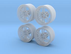 "Enkei RPF1 17"" 1/24  in Smooth Fine Detail Plastic"