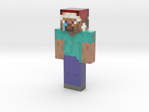 received_428366091137502 | Minecraft toy in Glossy Full Color Sandstone