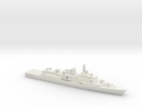 Barbaros-class frigate, 1/1250 in White Natural Versatile Plastic