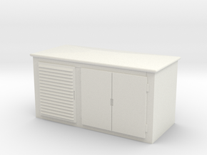 Electrical Cabinet 1/24 in White Natural Versatile Plastic