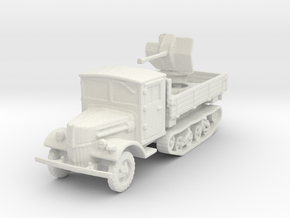 Ford V3000 Maultier Flak 38 late 1/120 in White Natural Versatile Plastic