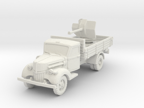 Ford V3000 Flak 38 early 1/87 in White Natural Versatile Plastic