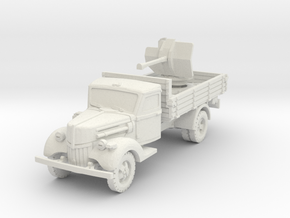 Ford V3000 Flak 38 early 1/56 in White Natural Versatile Plastic