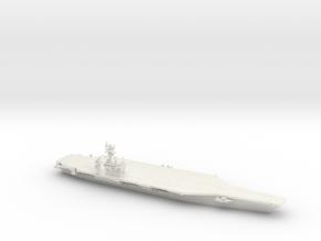 Nimitz-class CVN (CVN 68-70, 2017), 1/1800 in White Natural Versatile Plastic