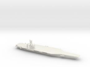 Nimitz-class CVN (CVN 68-70, 2017), 1/2400 in White Natural Versatile Plastic