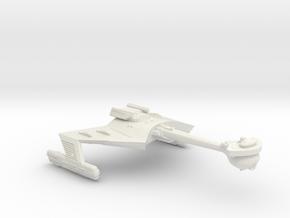 3788 Scale Klingon X-Ship D7XB Battlecruiser WEM in White Natural Versatile Plastic