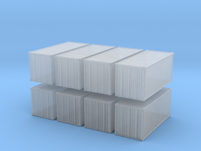 20 feet Container (x8) 1/400 in Smooth Fine Detail Plastic