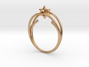anello ico 1b 1 mm NOVEMBRE marzo20b in Polished Bronze
