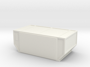 AAF Air Container (closed) 1/76 in White Natural Versatile Plastic