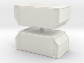 AAF Air Container (closed) (x2) 1/160 in White Natural Versatile Plastic