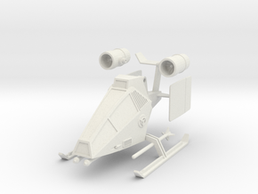 TA10 Light Attack VTOL (28mm) in White Natural Versatile Plastic