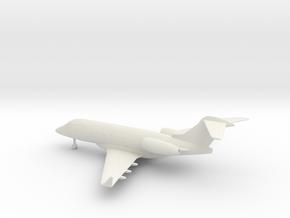 Bombardier Challenger 300 in White Natural Versatile Plastic: 1:200