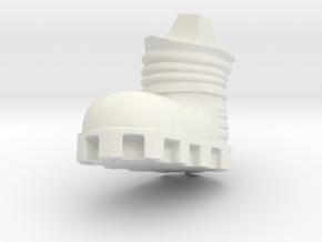 Chicken-Foot-R-dyna in White Natural Versatile Plastic