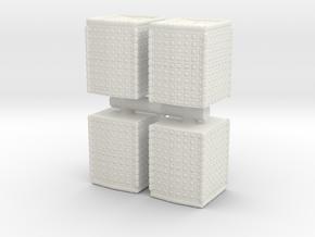 HESCO Sandbag Barrier (x4) 1/120 in White Natural Versatile Plastic