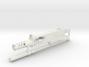 1/6 scale Browning M2 50 cal' in White Natural Versatile Plastic