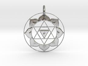 BAGALA - MUKHI YANTRA in Natural Silver