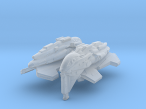 Kazon Fighter 1/350 x2 in Smooth Fine Detail Plastic