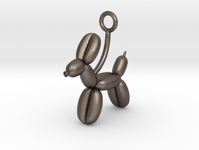 Balloon Animal in Polished Bronzed Silver Steel