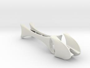 Tucan 4.75 wheelbase in White Natural Versatile Plastic