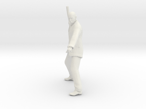 Printle T Homme 1086 - 1/32 - wob in White Natural Versatile Plastic