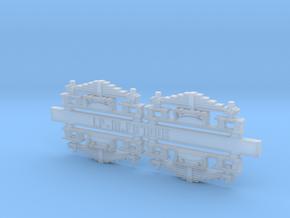 Suspensions secondaires pour BB 9004 SNCF in Smooth Fine Detail Plastic