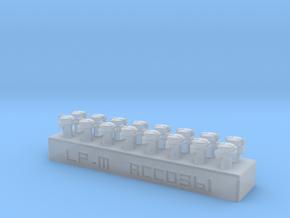 16 bondes de remplissage pour voiture OCEM SNCF in Smooth Fine Detail Plastic