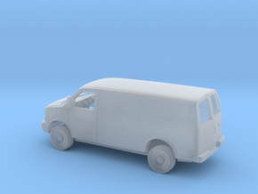 1/160 2003-Present Chevrolet Express Panel Van Kit in Smooth Fine Detail Plastic
