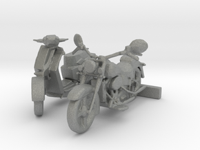 S Scale Motorcycle & Scooter in Gray PA12