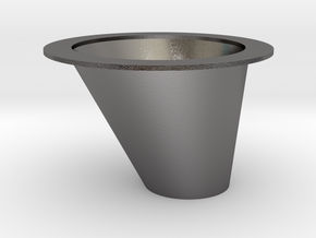 Chicago Express-Coin Slide Cup in Polished Nickel Steel