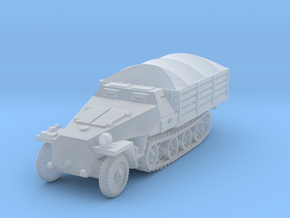 Sdkfz 251 D Pritschen (covered) 1/144 in Smooth Fine Detail Plastic