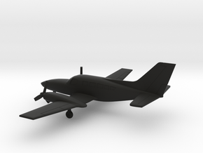 Cessna 402C Utiliner / Businessliner in Black Natural Versatile Plastic: 1:160 - N