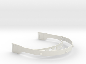 Shapeways Face Shield v2 in White Natural Versatile Plastic