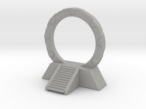 Stargate Space Portal Dimensional miniature games  in Aluminum