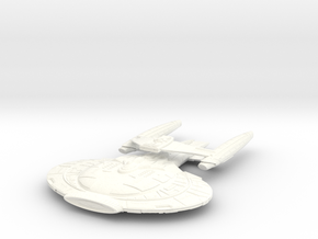 Wildwind Class V BatteCruiser  Changed Wings in White Processed Versatile Plastic