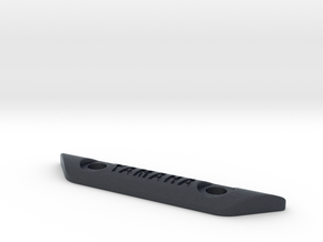 curved footpeg plate - YAMAHA in Black PA12