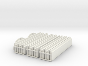 'N Scale' - Side Walk - 600' Long - 6 ft Wide in White Natural Versatile Plastic