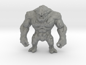 Orc Abomination DnD miniature fantasy games rpg in Gray PA12