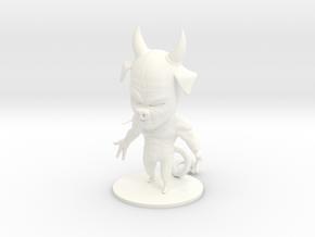 Black Devil V2 - 9cm Figurine in White Processed Versatile Plastic
