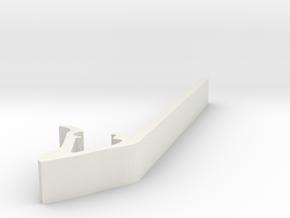 Drum Tool Version 2 in White Natural Versatile Plastic